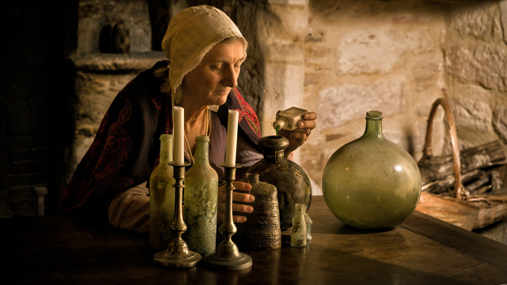 witch medieval potions