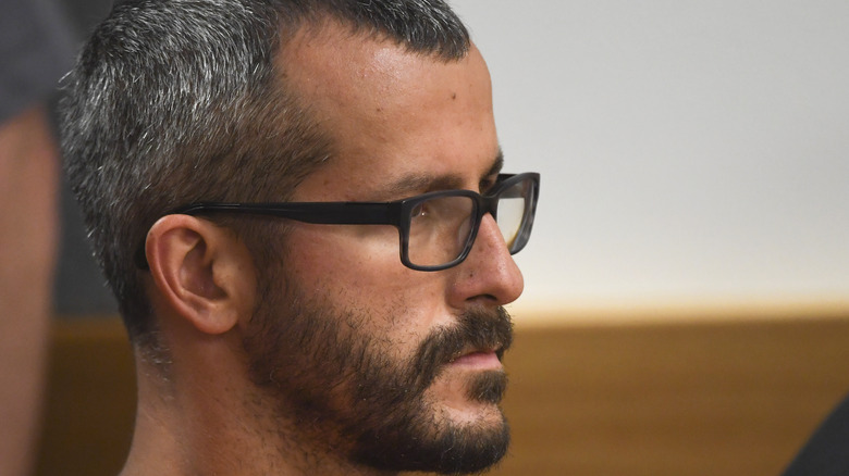Chris Watts at sentencing