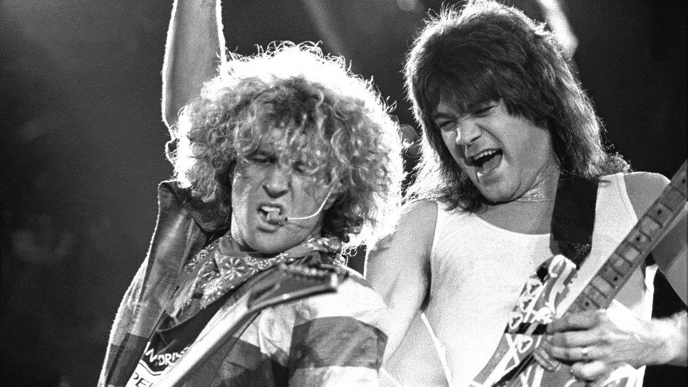 Sammy Hagar Eddie Van Halen