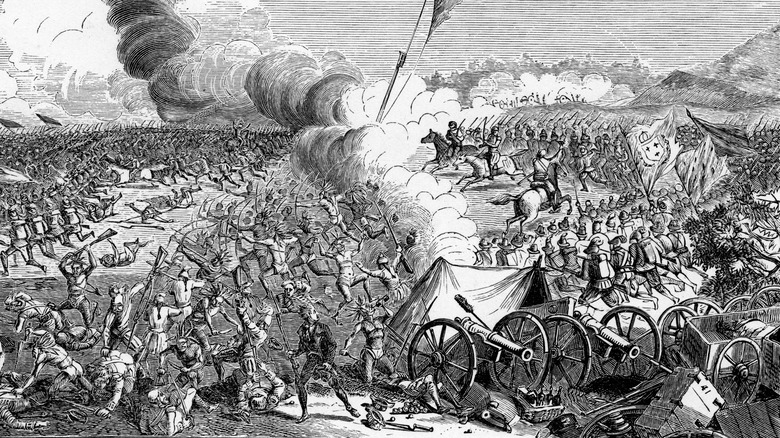 British General Braddock's defeat in 1755
