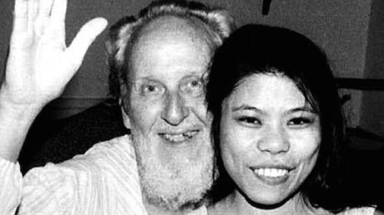 David Berg with cult member