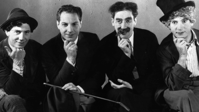 Four of The Marx Brothers
