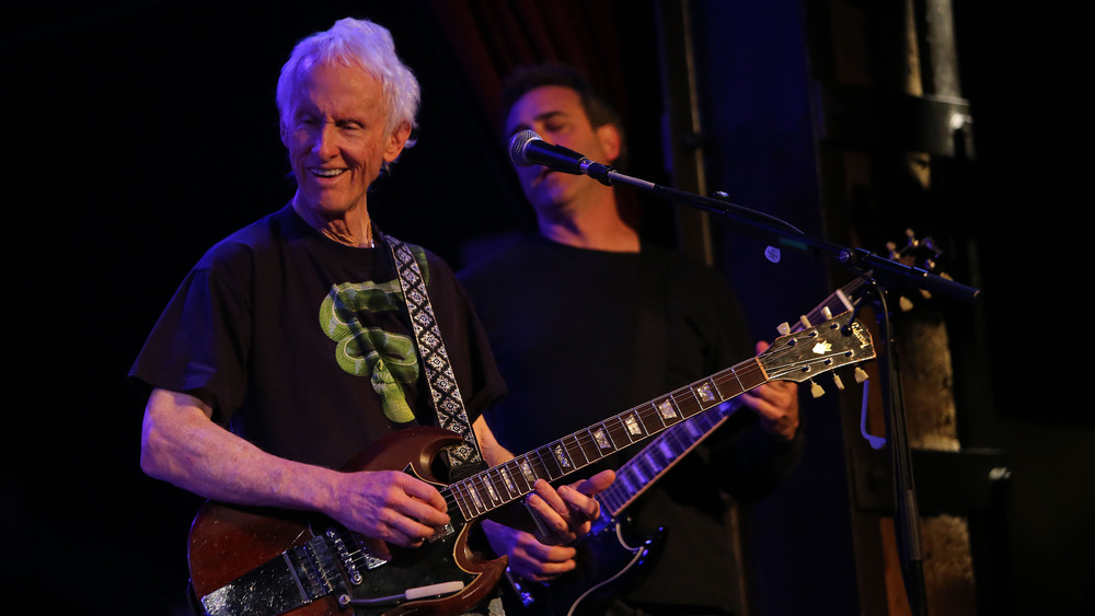 Robby Krieger on stage