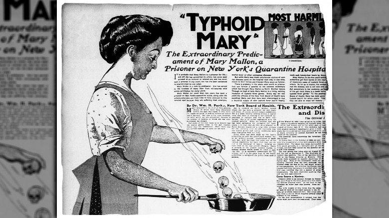typhoid mary newspaper