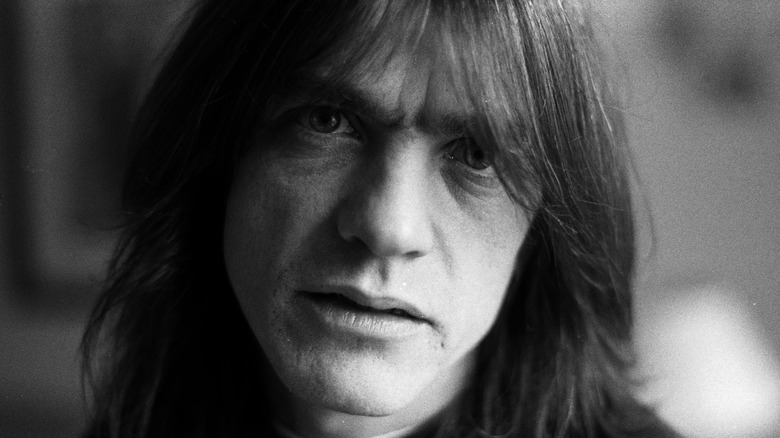 Malcolm Young poses for portrait