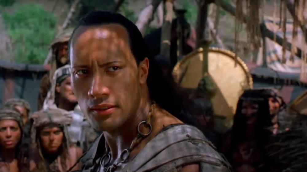 "Dwayne ""the Rock"" Johnson in The Scorpion King"