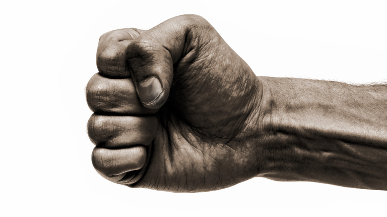 clenched fist