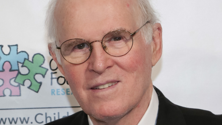 Charles Grodin poses at event