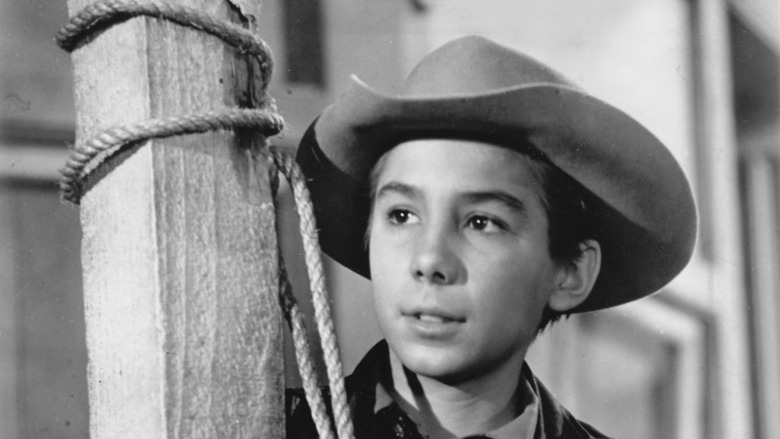 Johnny Crawford from The Rifleman