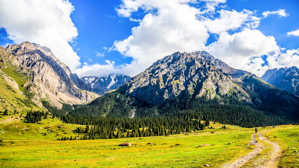 The open spaces of an area perfect for mountain men trade