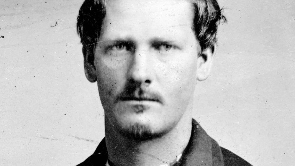 Wyatt Earp around 1869