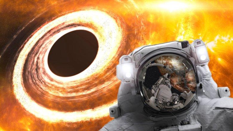 Black Hole, Human, Astronaut