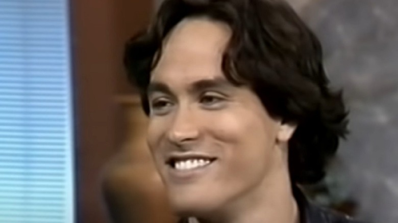 Brandon Lee smiling
