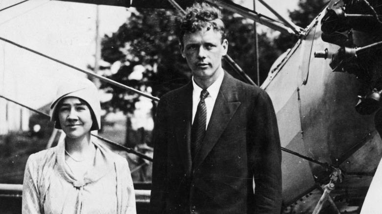 Charles Lindbergh and Anne Morrow