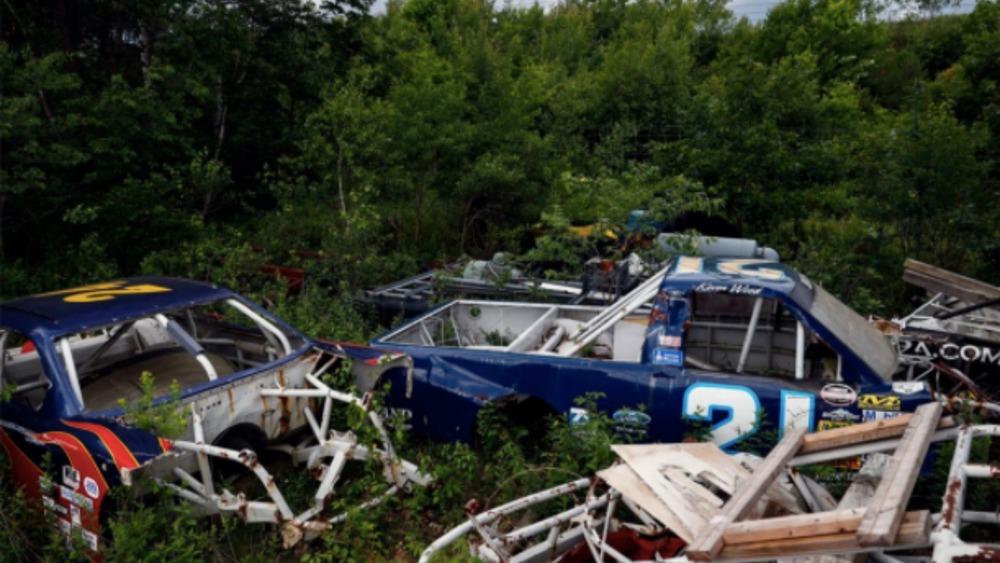 race car graveyard