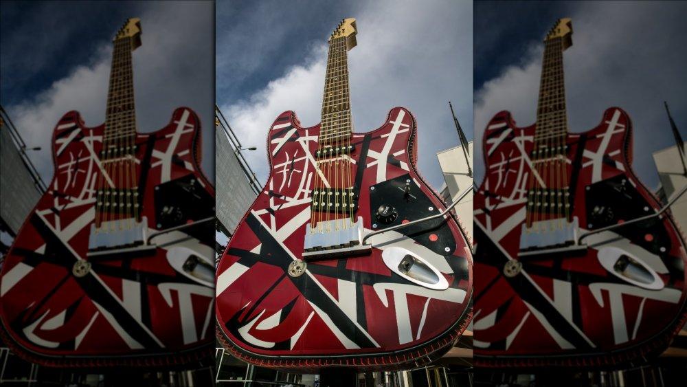 Frankenstein guitar