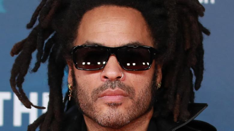 Lenny Kravitz wearing sunglasses