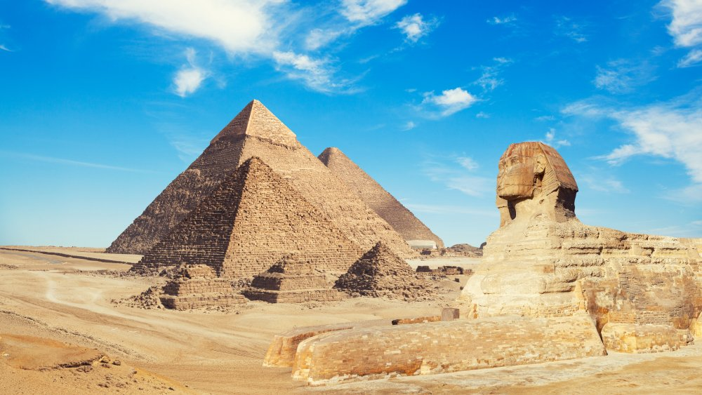 Great Pyramid and Sphinx, Giza