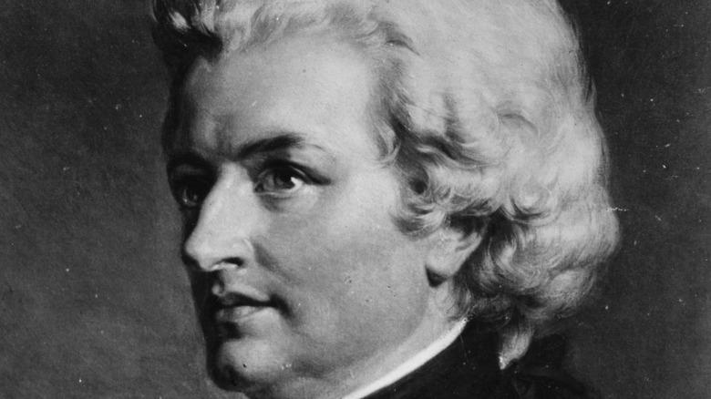 Portrait of Mozart, circa 1785