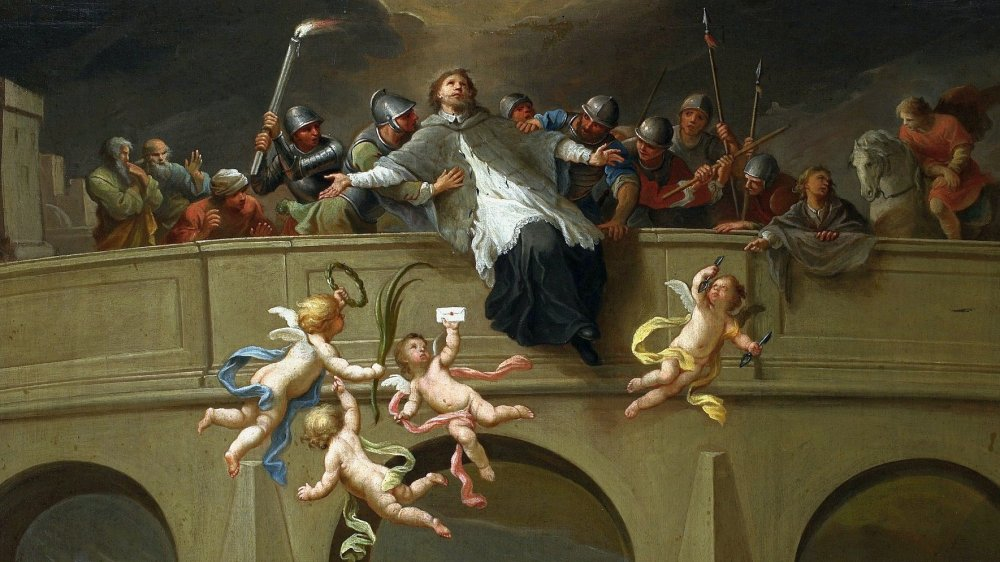 Martyrdom of St. John of Nepomuk by Szymon Czechowicz, 1750