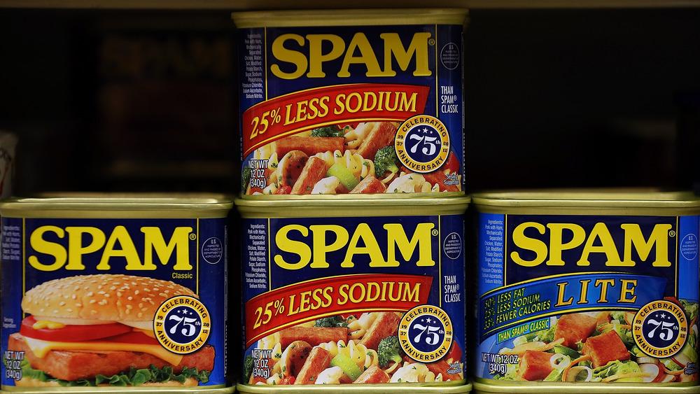 Spam display