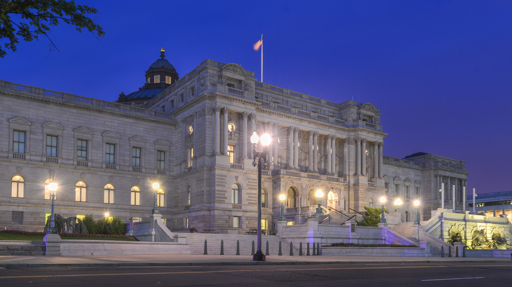 Library of Congress front view