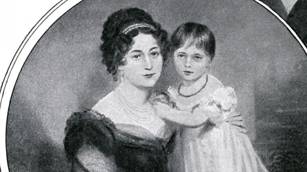 Victoria and mother