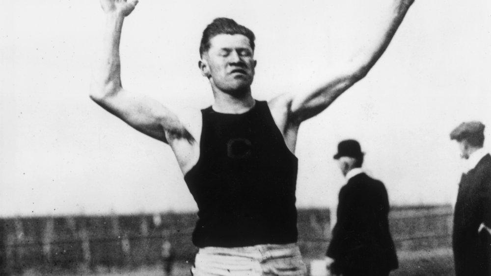 An image of athlete Jim Thorpe