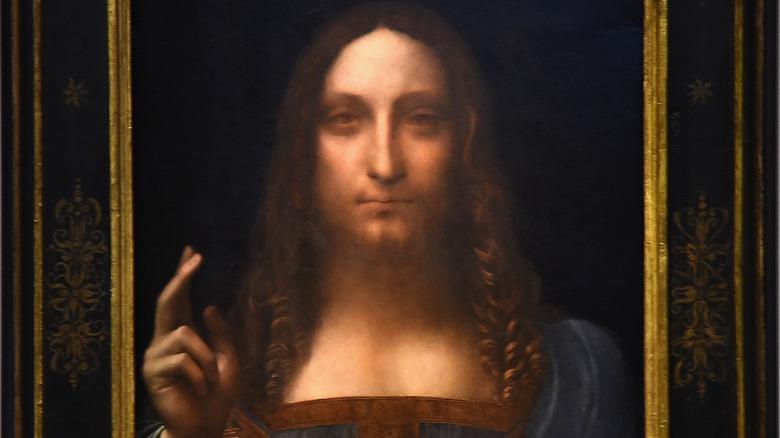 da Vinci's Salvator Mundi painting