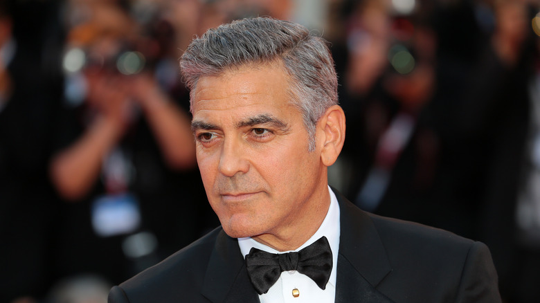George Clooney in tuxedo