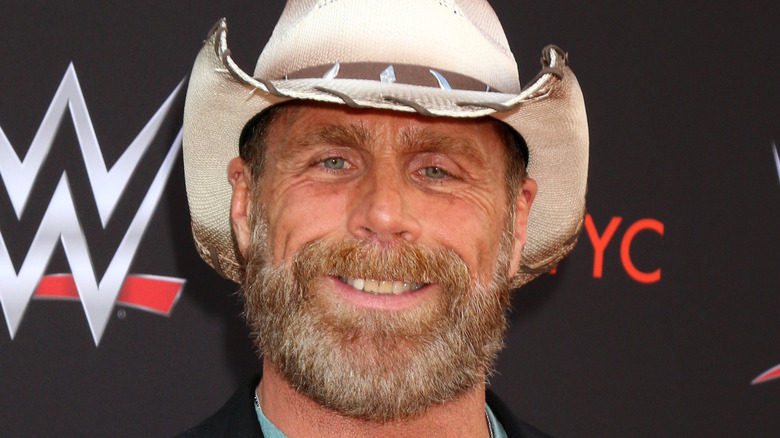 Shawn Michaels at WWE event