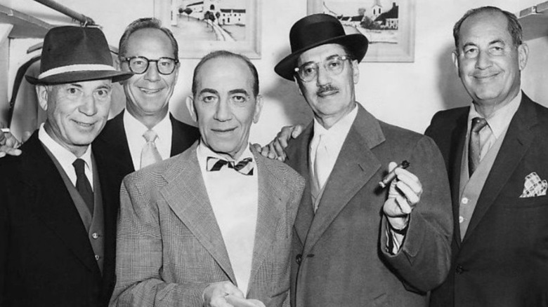 The Five Marx Brothers