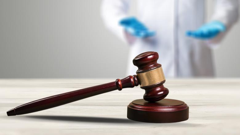 Scientist behind judge's gavel