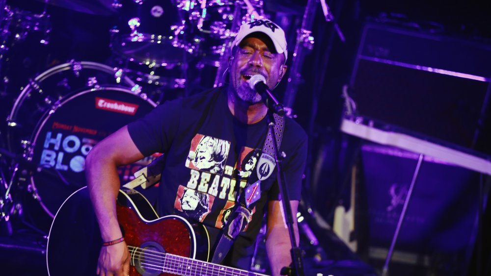 Hootie and the Blowfish performs at the Troubadour in 2019