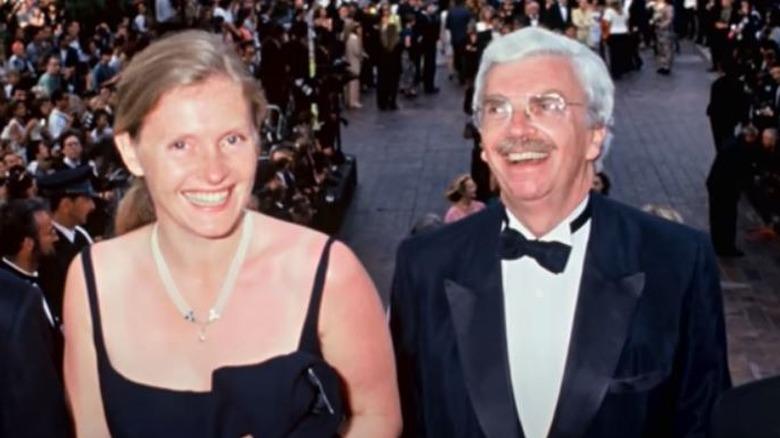 Sophie and Daniel Toscan du Plantier