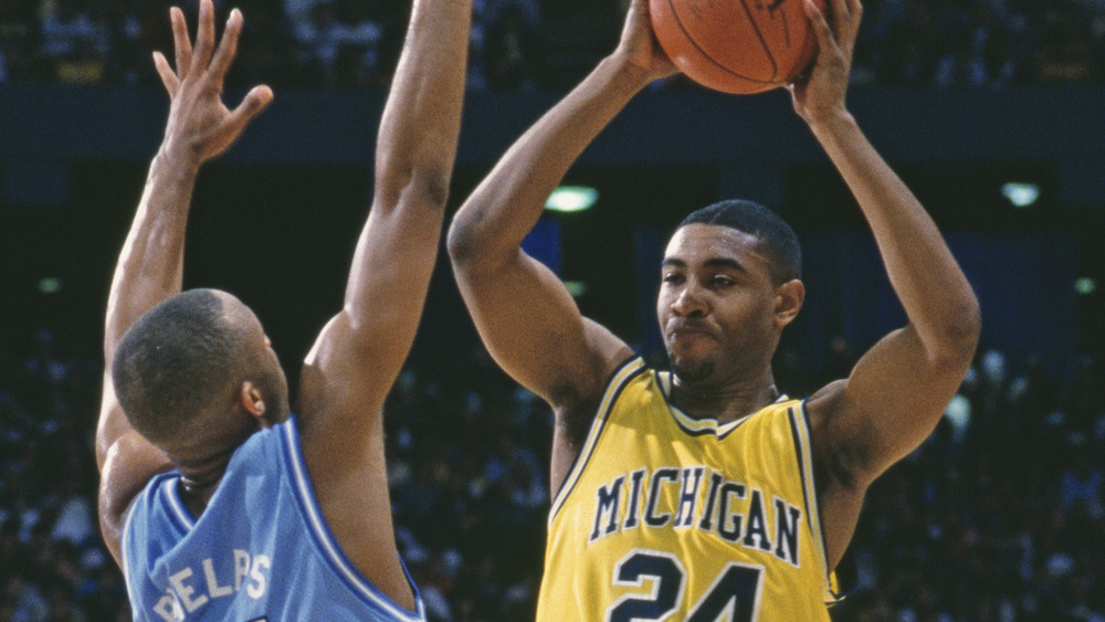Jimmy King of the Michigan Wolverines