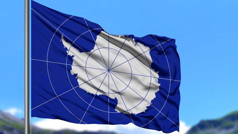 Antarctica, Flag, Countries