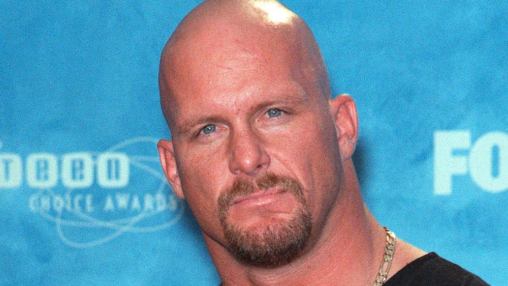 Wrestler 'Stone Cold' Steve Austin