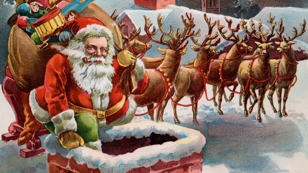 Old St. Nick, Santa Claus, The Night Before Christmas