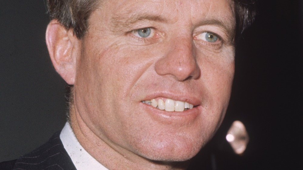 Robert F. Kennedy smiling