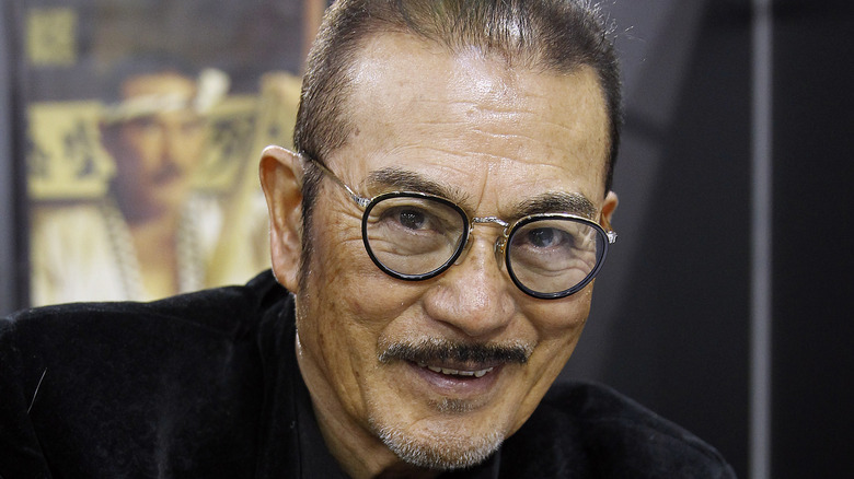Sonny Chiba smiling, 2016