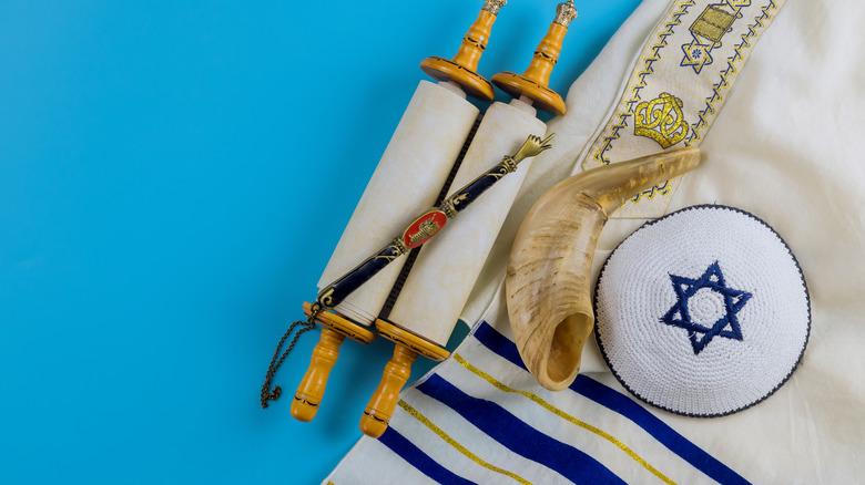 star of David cloth