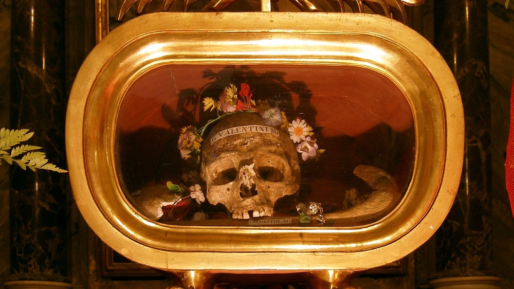 relics of saint valentine