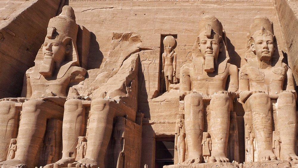 Statues of Ramses II