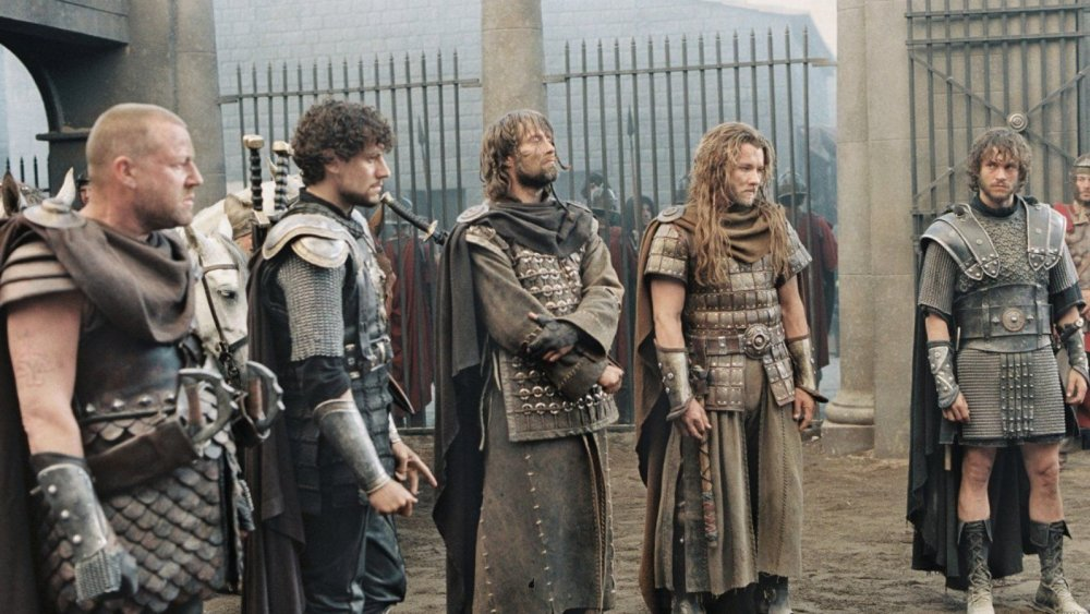 King Arthur's knights in the 2004 King Arthur film