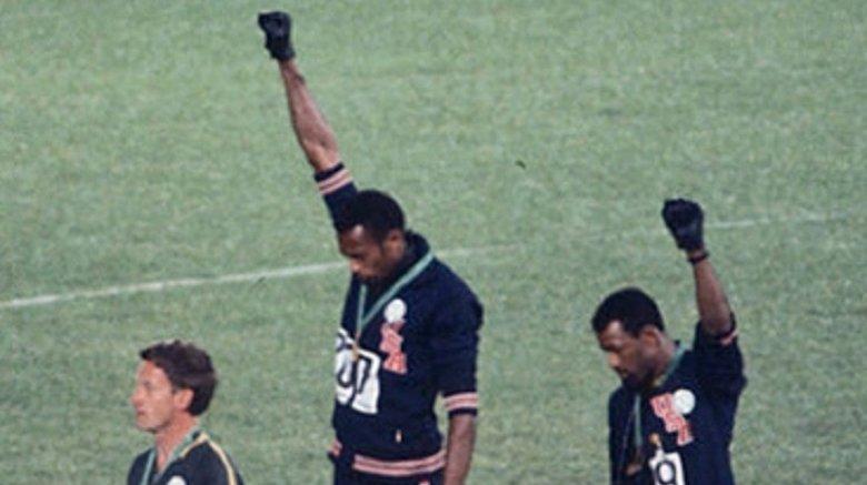 1968 Olympics, black power fist