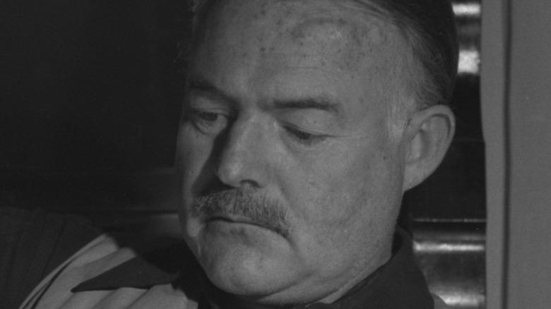 Ernest Hemingway close-up