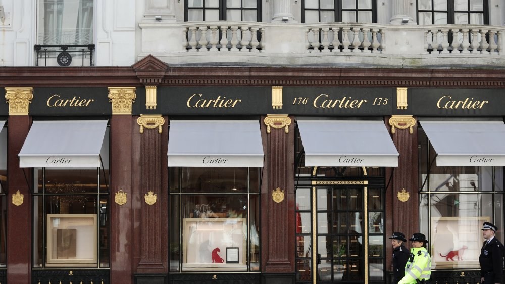 Cartier watch jewelry luxury