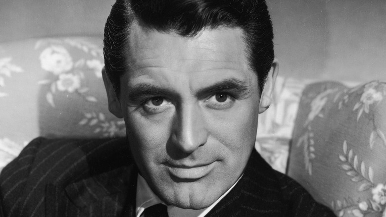 Cary Grant smoldering
