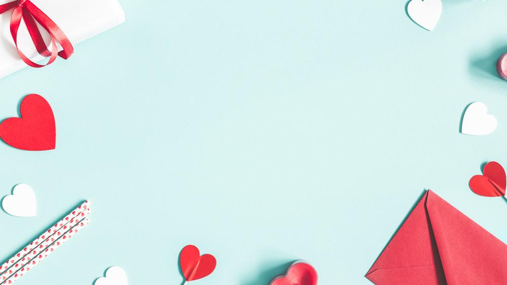 Valentine's Card, Valentine's Day presents